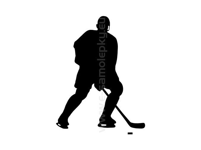 Samolepka - Hokejista 14
