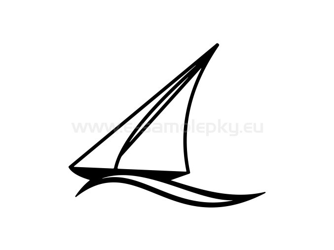 Samolepka - Jachting 08