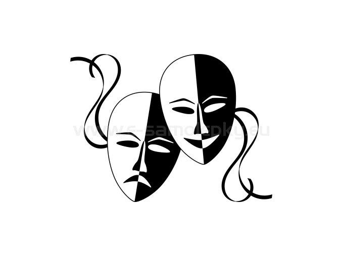 Samolepka - Divadlo