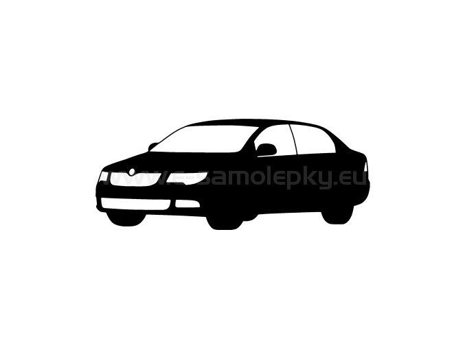 Samolepka - Škoda Superb