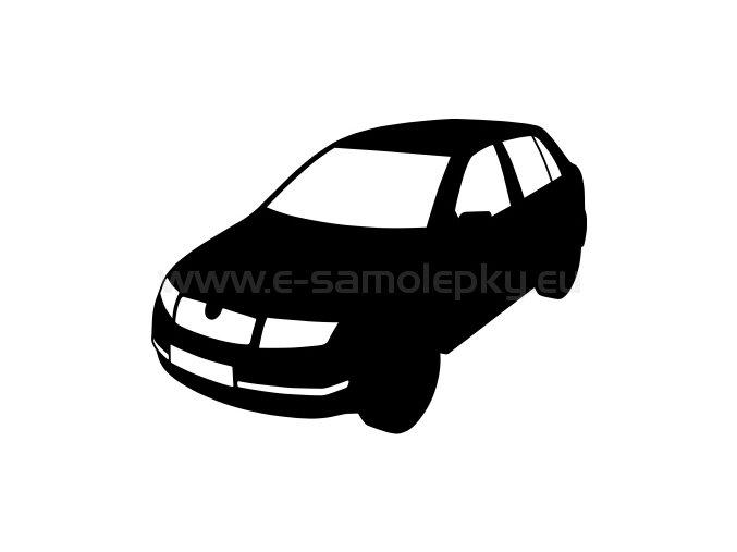 Samolepka - Škoda Fabia