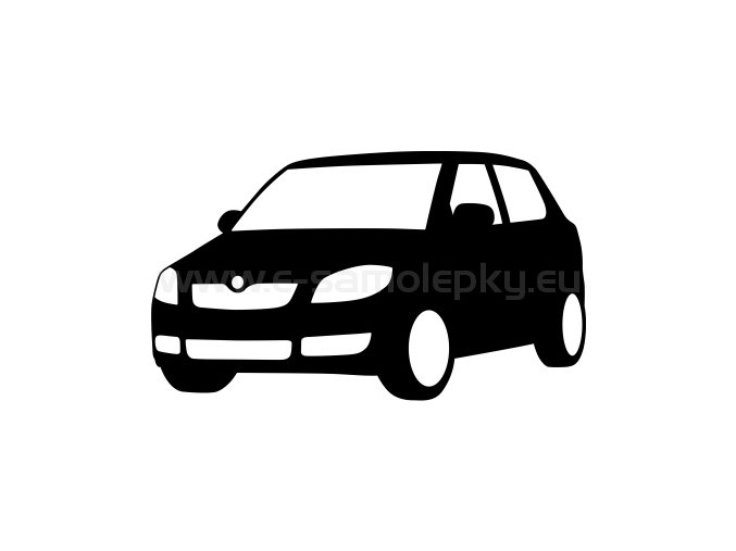 Samolepka - Škoda Fabia 02