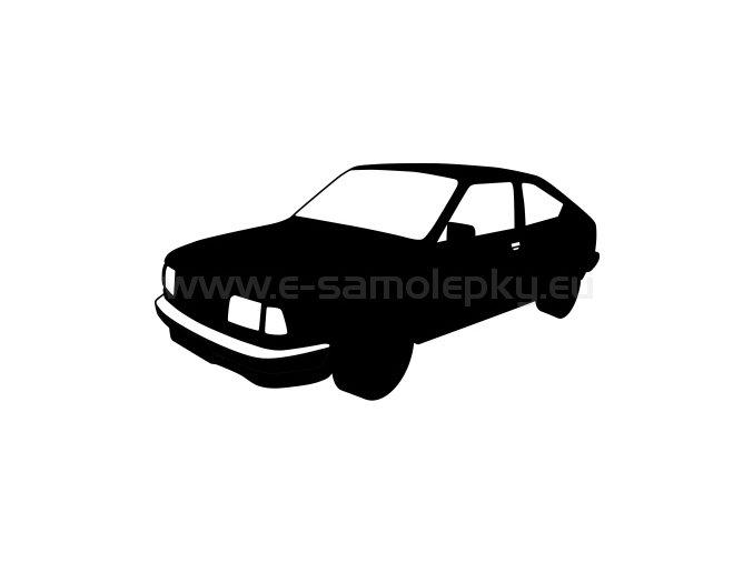 Samolepka - Škoda Garde