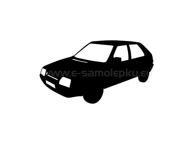 Samolepka - Škoda Favorit