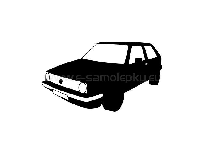 Samolepka - Volkswagen Golf