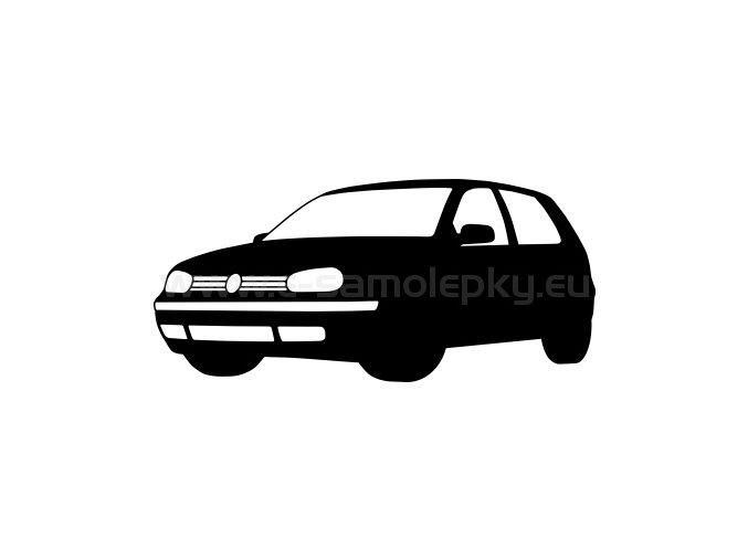 Samolepka - Volkswagen Golf 02