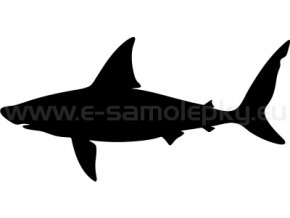 Samolepka - Žralok 05