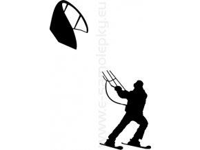 Samolepka - Kiting