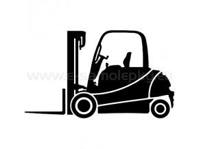 Samolepka - Vysokozdvižný vozík