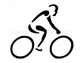 Samolepka - Cyklista 10