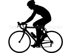 Samolepka - Cyklista 11