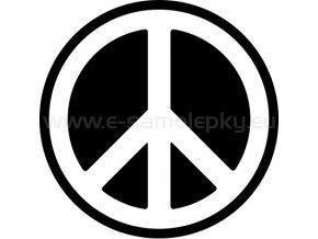 Samolepka - Hippies