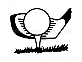 Samolepka - Golf