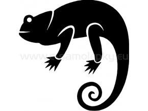 Samolepka - Chameleon 02
