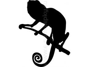 Samolepka - Chameleon 03