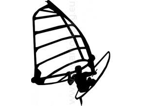 Samolepka - Windsurfing 05