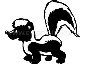 Samolepka - Skunk
