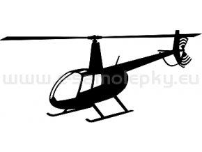 Samolepka - Vrtulník Robinson