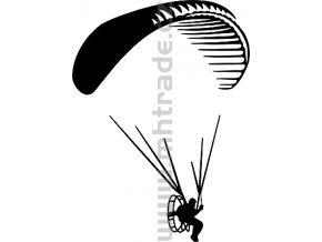 Samolepka - Motorový paragliding 05
