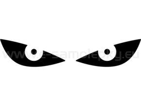 Samolepka - Reflexní oči - ČERVENÉ