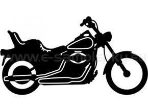 Samolepka - Harley Davidson Softail Custom