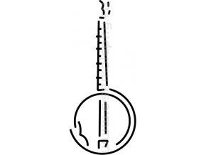 Samolepka - Banjo