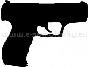 Samolepka - Pistole Walther P99