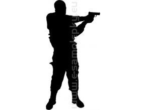 Samolepka - Střelba 07