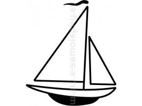 Samolepka - Jachting 09