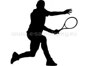 Samolepka - Tenista 06