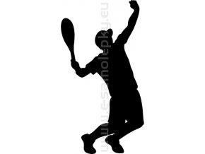 Samolepka - Tenista 09