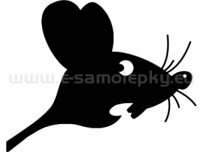 Samolepka - Myš 04