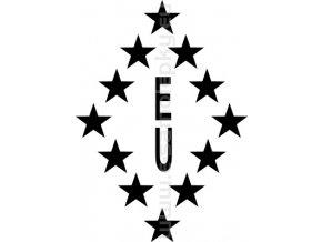 Samolepka - EU nemám rád