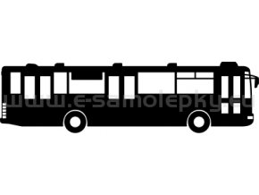 Samolepka - Autobus 09
