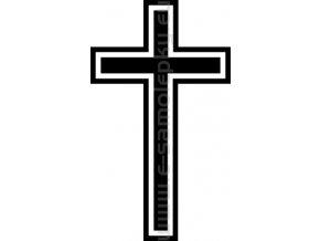 Samolepka - Kříž