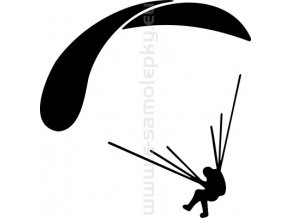 Samolepka - Paragliding 04