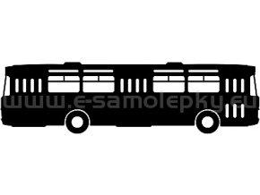 Samolepka - Autobus 11