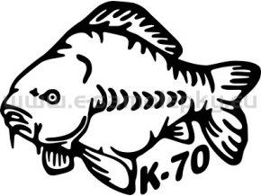 Samolepka - Kapr 03 K-70
