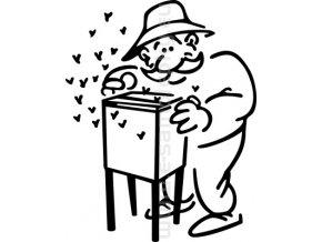 Samolepka - Včelař