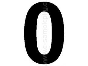 Samolepící číslice 0