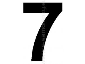 Samolepící číslice 7