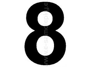 Samolepící číslice 8