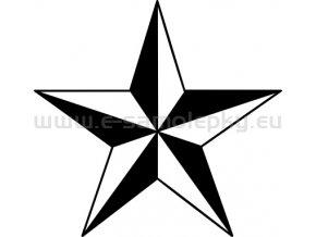Samolepka Hvezda