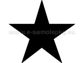 Samolepka Hvezda 02