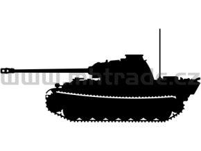 Samolepka Tank 15 Panther