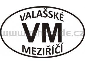 Samolepka PZ VM Valasske Mezirici