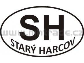 Samolepka PZ SH Stary Harcov