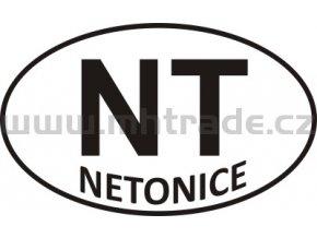 Samolepka PZ NT Netonice