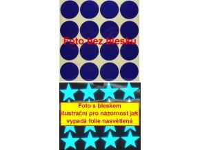 Reflexní samolepka: Kolečka 16 ks- Modré