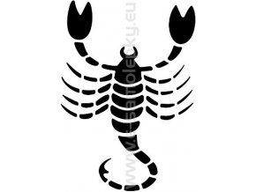 Samolepka - Zodiac- Štír